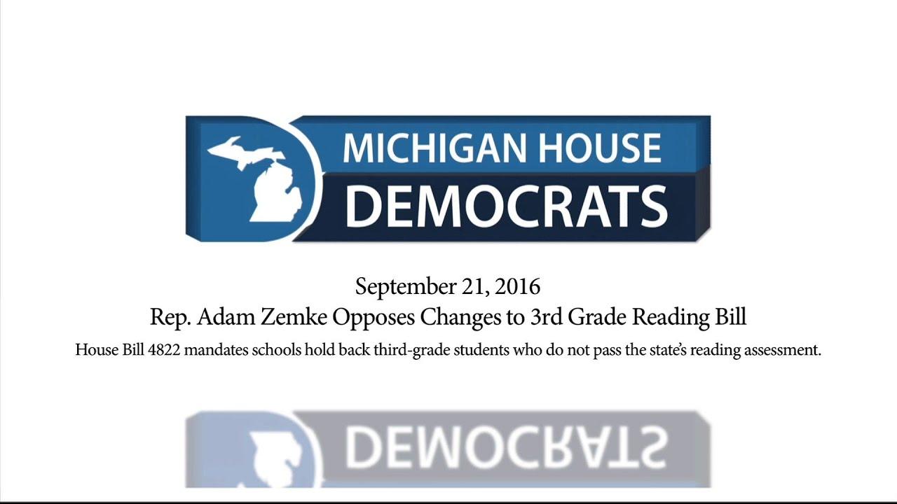 Image result for 3rd grade reading bill