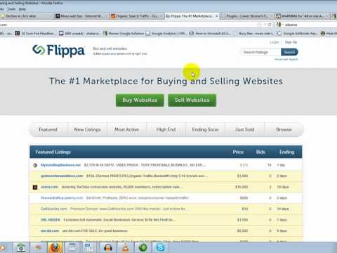 For sale websites on Flippa, Adsense WARNING