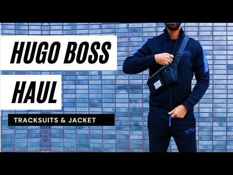 I CHECKED OUT HUGO BOSS JACKETS & TRACKSUITS FOR THE FIRST TIME