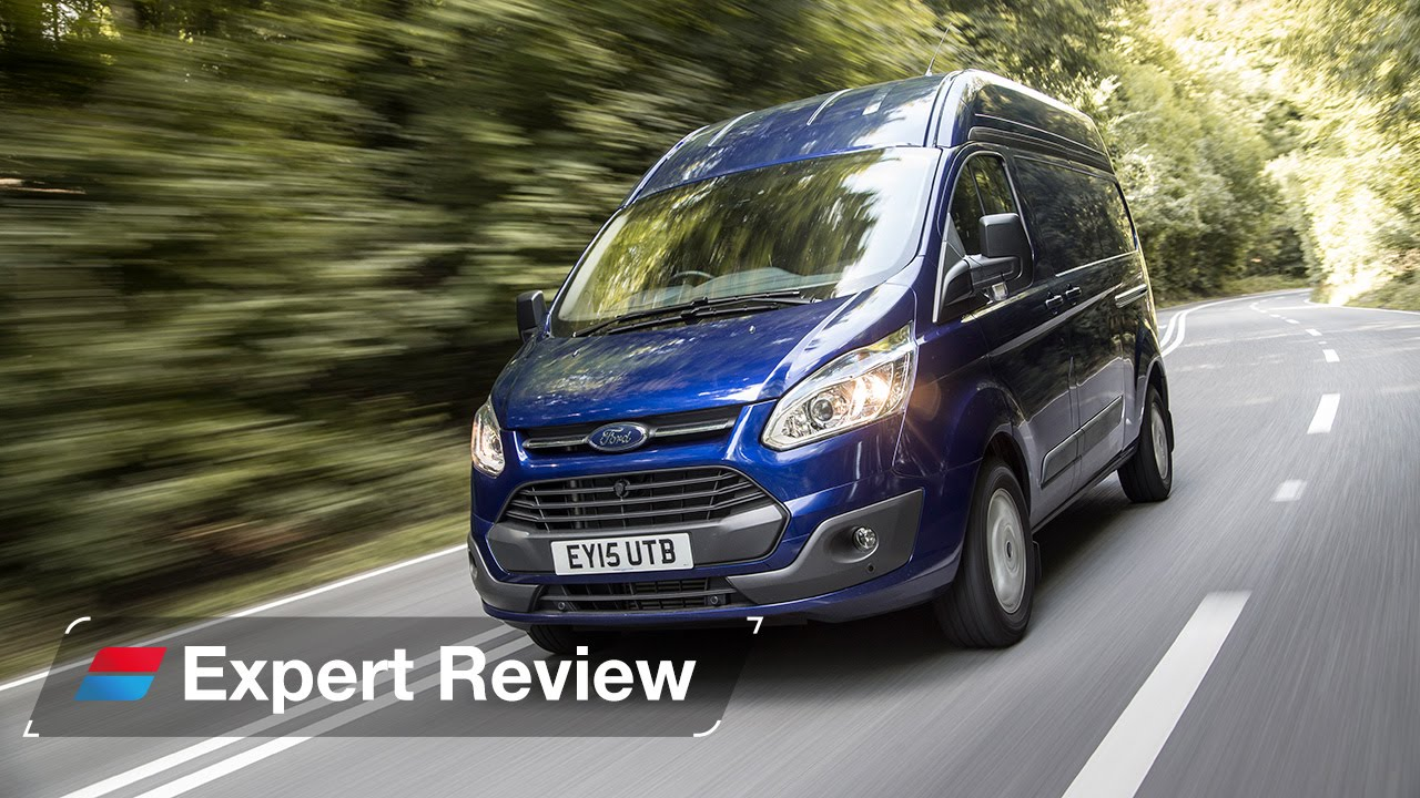 Świeże Ford Transit Custom van review - YouTube LY74