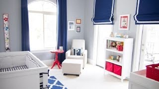 Red, White And Blue Nursery Decor