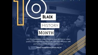 FOSIS Black History Month Campaign 2016