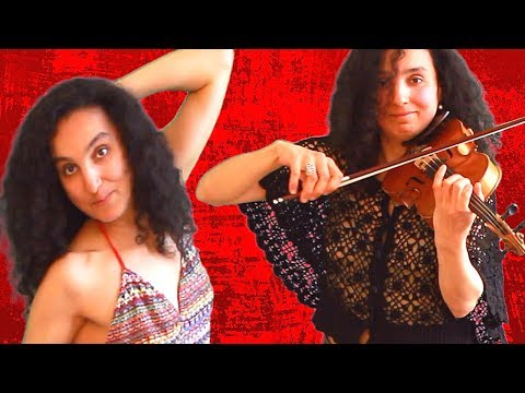 Billie Eilish | bad guy | Arabic Violin Cover And Belly Dance