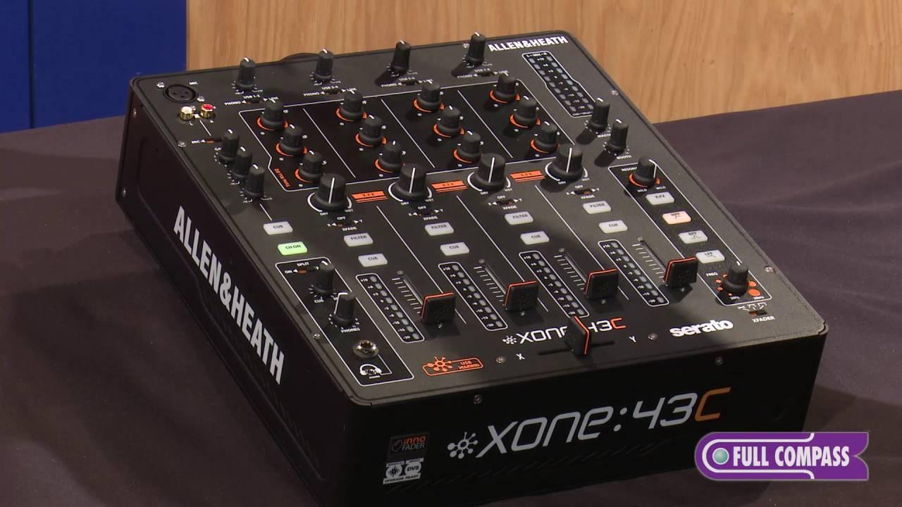 DJ Allen & Heath Xone:43C