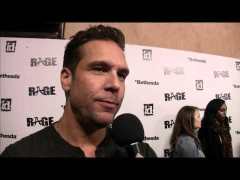 Celebs Talk Gaming: Rage Red Carpet Event