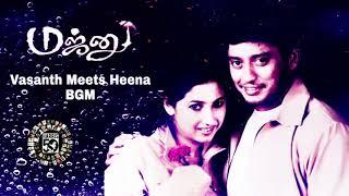 Vasanth Meets Heena BGM   Majnu Tamil Movie BGM   Harris Jayaraj