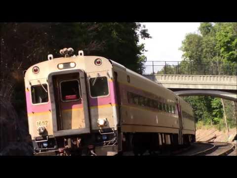 Fast MBTA Commuter Trains