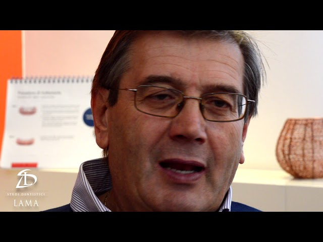 Testimonianza di Angelo: Riabilitazione Implantare