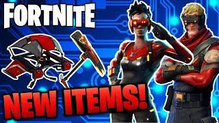 NEW Cipher & Circuit Breaker SKIN + Cutting Edge Axe!!! NEW Fortnite Battle Royale UPDATE!