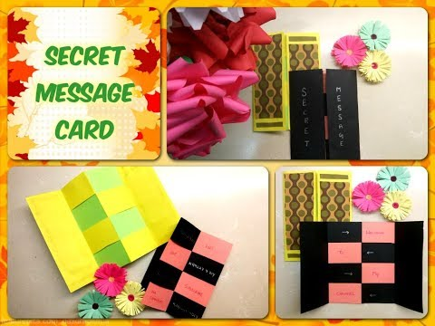 Secret Message Card | Thanksgiving Greetings