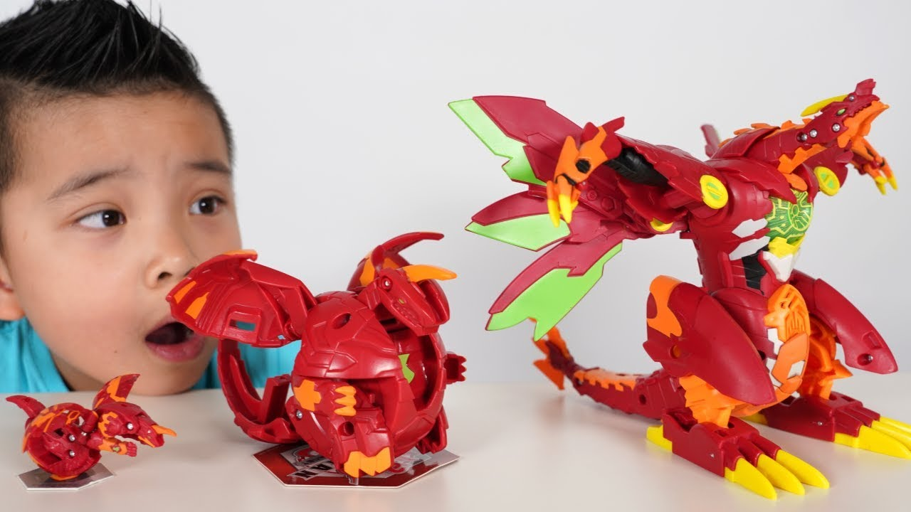 DRAGONOID Bakugan Transforming Fun With CKN Toys