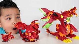 DRAGONOID Bakugan Transforming Fun With CKN Toys