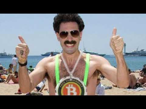 Borat Loves Bitcoin!!!!