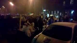 Разгон Майдана возле НБУ Украина Беркут жестоко разгоняет кредитный Майдан возле НБУ. Киев