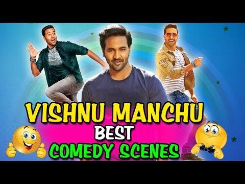 Vishnu Manchu Best Comedy Scenes   South Indian Hindi Dubbed Best Comedy Scenes