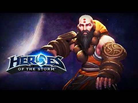 ♥ Heroes of the Storm (Gameplay) - Kharazim, The Healing Tide (HoTs Quick Match)