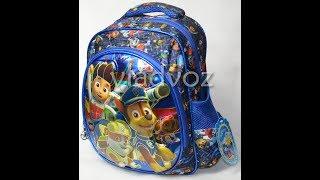 Дошкольный рюкзак для мальчиков объёмный Щенячий патруль синий