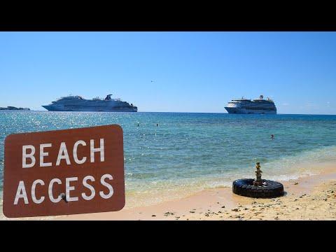 Grand Cayman Island Free Secluded Beach Near Cruise Port Terminal