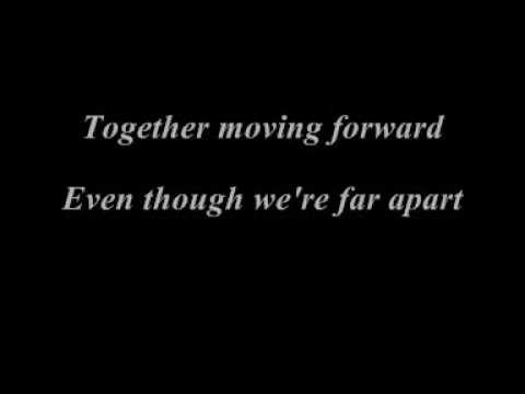 Together we'll make a promise lyrics on video