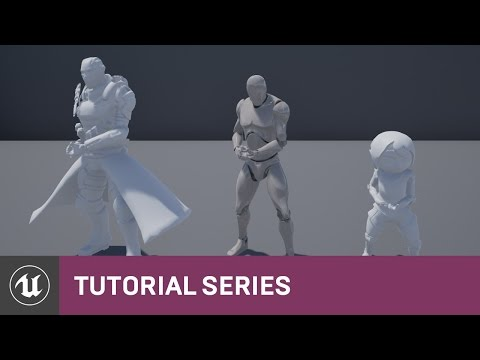 Skeleton Assets: Importing, Sharing Skeletons & Anims | 02 | v4.8 Tutorial Series | Unreal Engine