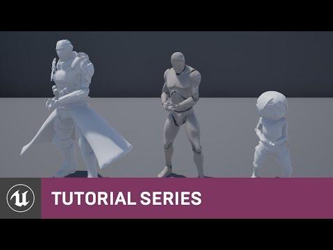Skeleton Assets: Importing, Sharing Skeletons & Anims   02   V4.8 Tutorial Series   Unreal Engine