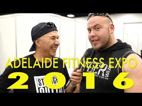 Adelaide Fitness Expo 2016 with Comedian, Tahir!