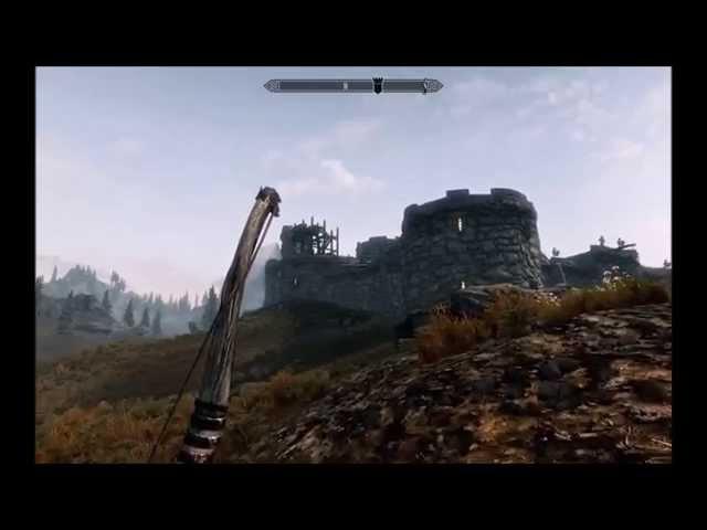 #1  [ SKYRIM ]   Lattaque du dragon !