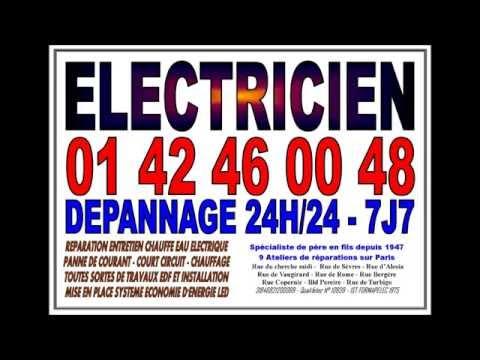 ELECTRICITE ENTREPRISE PARIS 7eme - TEL: 0142460048 - SOS DÉPANNAGE ÉLECTRICIEN PARIS 75007