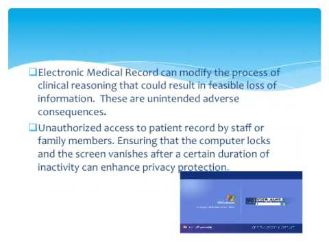 Dangers of Electronic Medical Record Charting