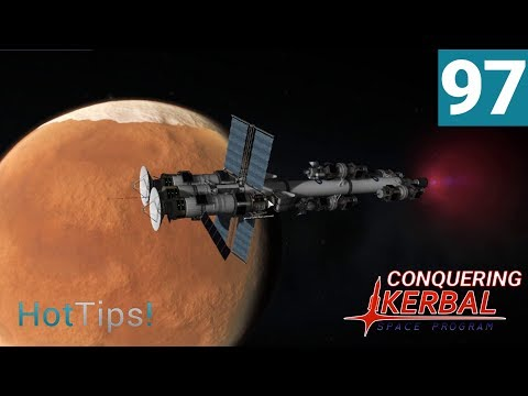 Kerbal Space Program [1.2.2] - Ep 97 - Satellites Arrive At Duna - Let's Play
