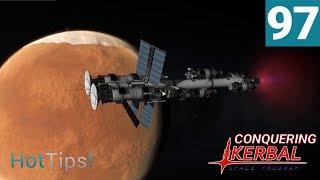 Kerbal Space Program [1.2.2] - Ep 97 - Satellites Arrive At Duna - Let