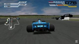 Formula One 2001 PS1 Gameplay HD