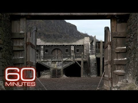 """60 Minutes"" goes behind-the-scenes with Kit Harington at ""Game of Thrones"" Castle Black"