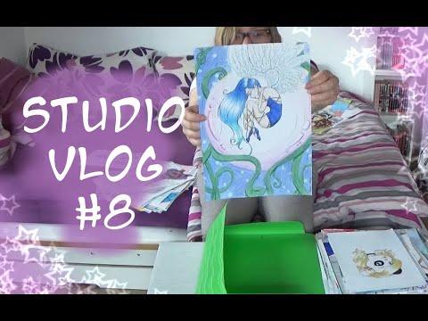 Studio Vlog #8 🎨 viele Speedpaints, Redraws von alten Bildern und schlechtes Wetter 🌧 from YouTube · Duration:  32 minutes 49 seconds