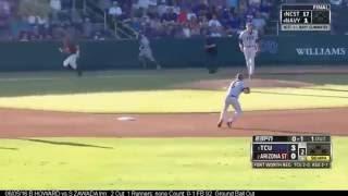 TCU Baseball Postseason 2016 Defensive Highlights