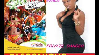 SHARRIE JONES - PRIVATE DANCER - ONE NITE RIDDIM - GRENADA SOCA 2013