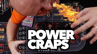 How to win with POWER CRAPS 🎲 - Craps Betting Strategy