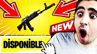 🔴MAJ v6.22 ON VA TESTER THE NEW CHEATED ARME On Fortnite Battle Royale!!