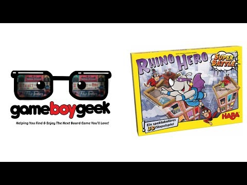 Rhino Hero: Super Battle Review with the Game Boy Geek