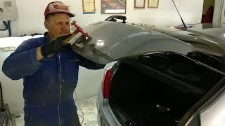 Opel Corsa Body repair Кузовной ремонт Часть1