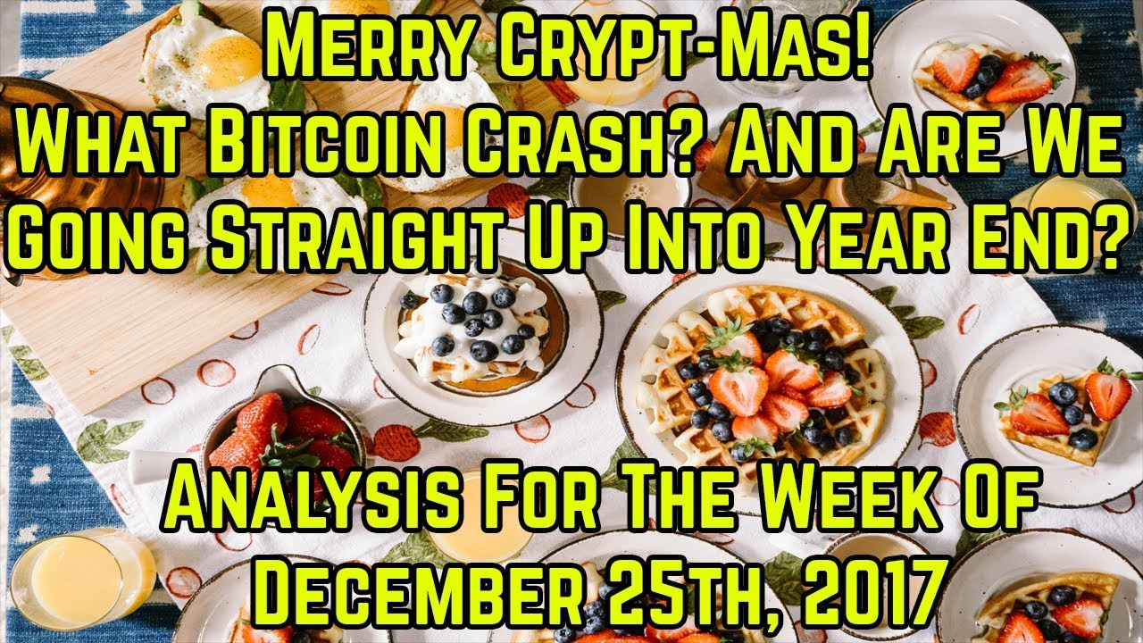 What Bitcoin Crash Stock Market Analysis For The Week Of December 25th 2017