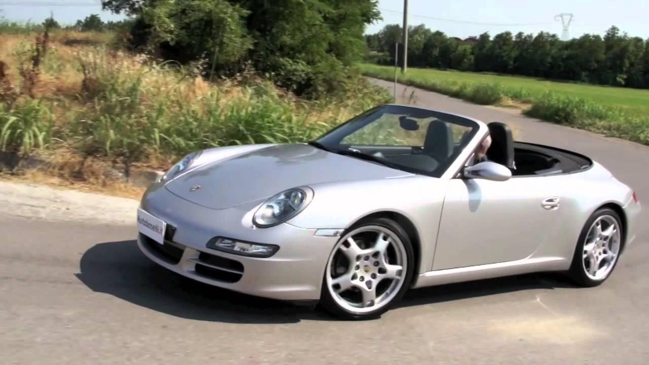 Porsche 997 Carrera Cabriolet Autobaselli Youtube