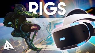 Rigs Mechanized Combat League Project Morpheus Gameplay | PlayStationVR