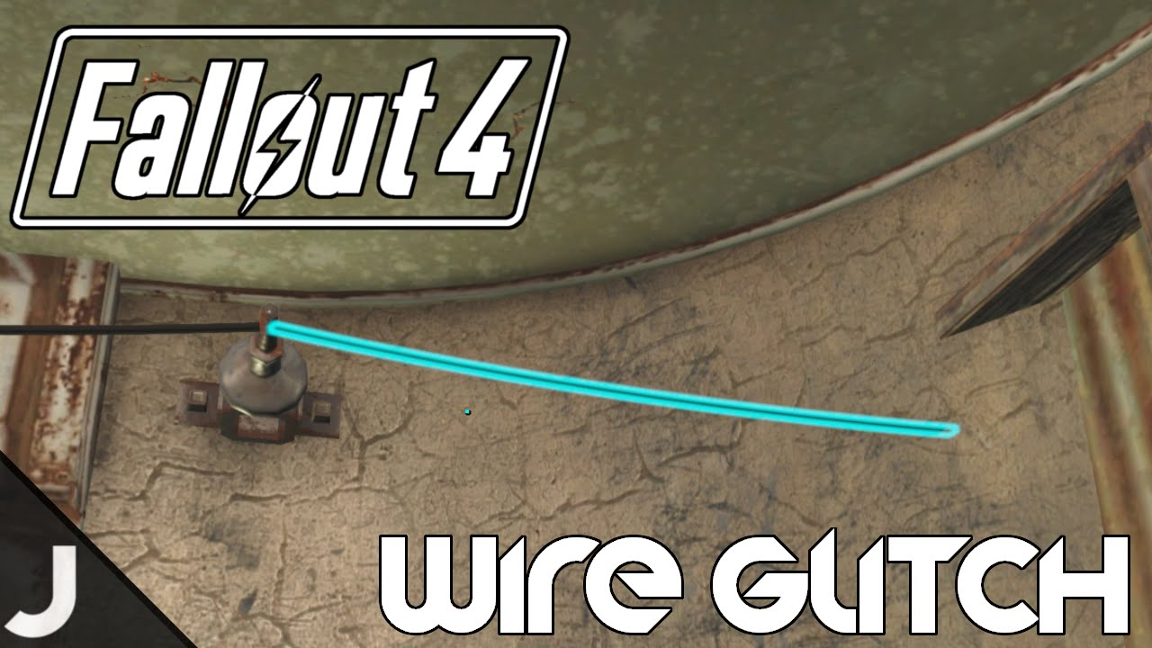 Fallout 76 How To Run Wires Through Walls: Fallout 4 - How To Get Wires Through Walls! [Wire Glitch] - YouTuberh:youtube.com,Design