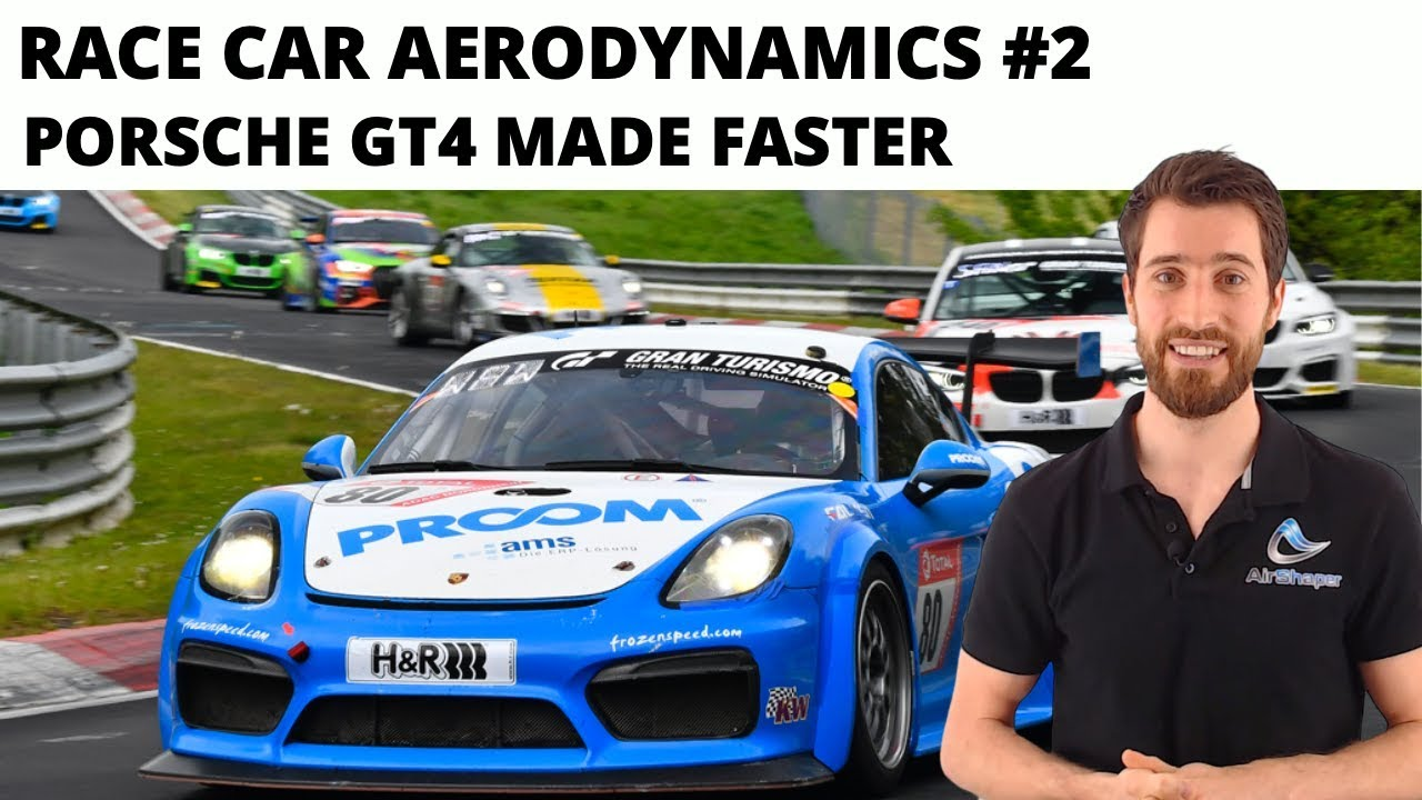 Race Car Aerodynamics #2 - Improving the Porsche GT4