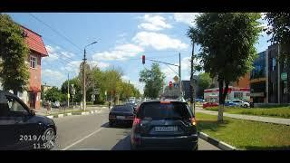 Новости Тулы: водитель BMW грубо нарушил ПДД на ул. Демонстрации