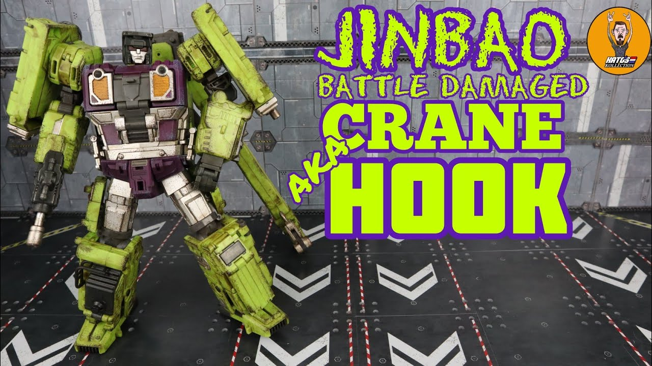 Jinbao Battle Damaged Crane Hook Review By Kato's Kollection