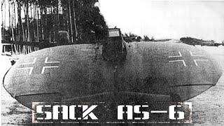 Sack AS-6: самолет-блин