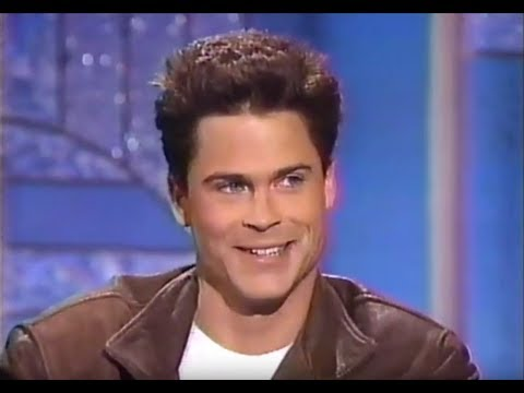 Rob Lowe on the Arsenio Hall Show (1990)