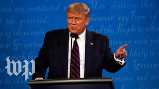 Fact-checking Trump's claims on voting during first presidential debate In the final moments of the first presidential debate, President Trump on Sept. 29 repeated his baseless claim that mail balloting will invite widespread fraud., From YouTubeVideos